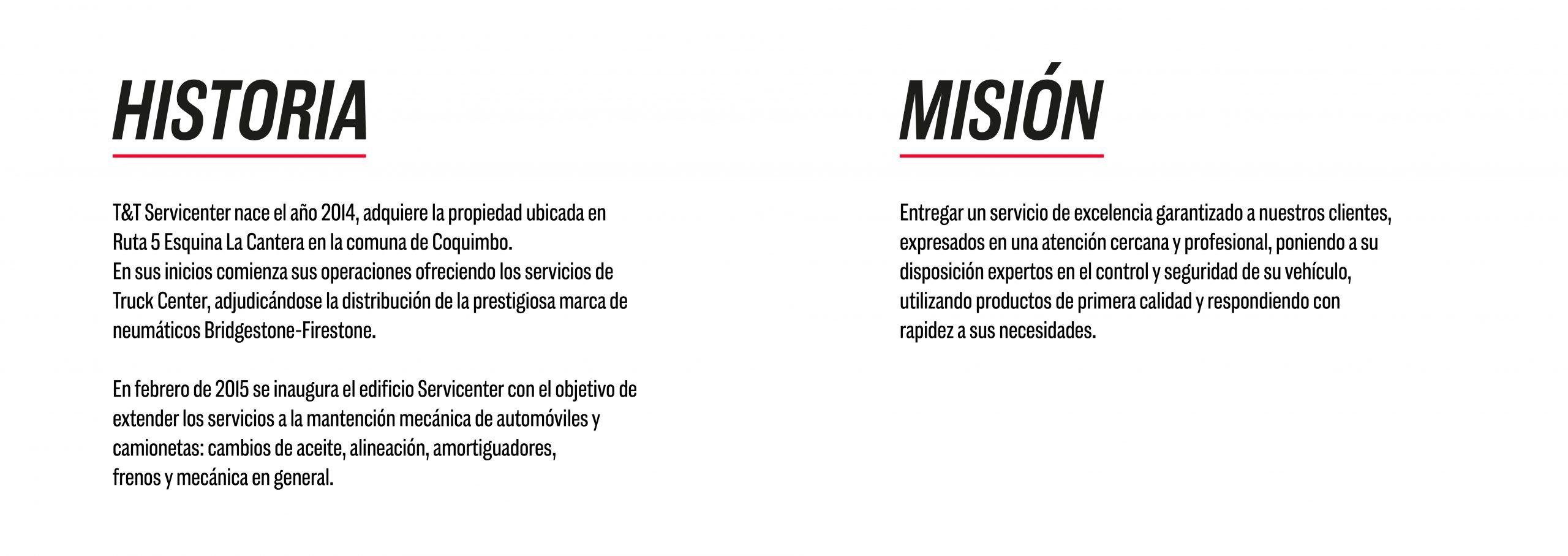 Historia y Misión